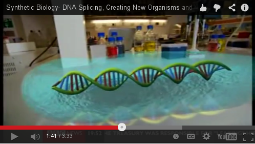 synthetic man-made DNA